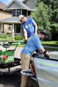 Clean Air Lawn Care Charlotte team